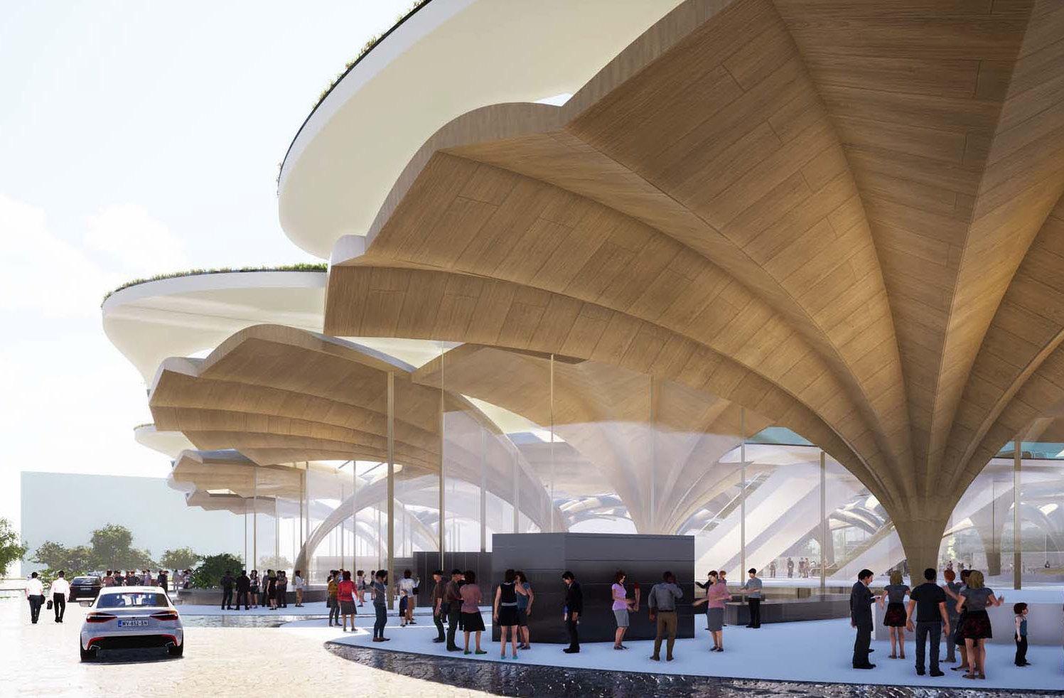 La stazione di Xi'An ispirata ai bachi da seta: ACL conquista la Mention Renolit per la sostenibilità